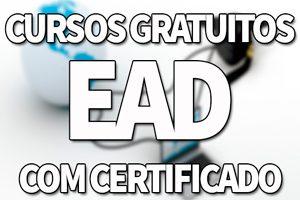 Cursos Gratuitos EAD 2019 com Certificado