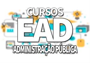 Cursos EAD Administração Pública